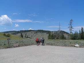 Photo: hitting the trail at Black Tail Creek trail head