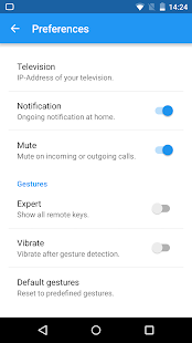 Remote Gestures for SAMSUNG- screenshot thumbnail
