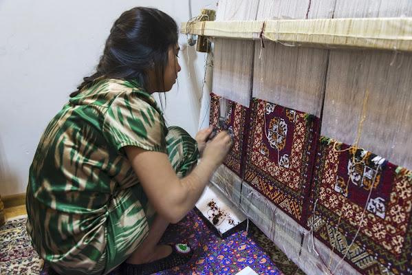 La tessitrice di Bukhara. di Sognatrice