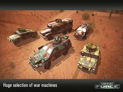 Metal Force: War Modern Tanks
