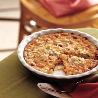 Quick and Easy Ham & Cheese Pie Recipe