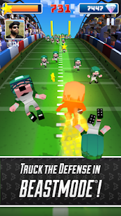 Blocky BEAST MODE® Football- screenshot thumbnail