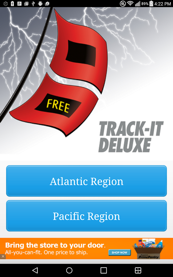 Track-It for Hurricanes- screenshot