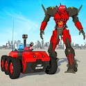 Fire Truck Robot Hero Firefighter Bot Rescue Games icon