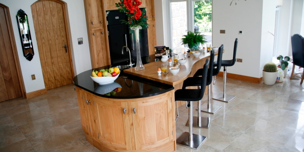 handcrafted kitchen furniture installed by touch wood in oxfordshire