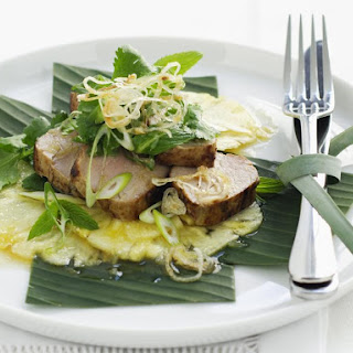 Thai Pork and Pineapple Salad
