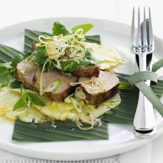 Thai Pork and Pineapple Salad.