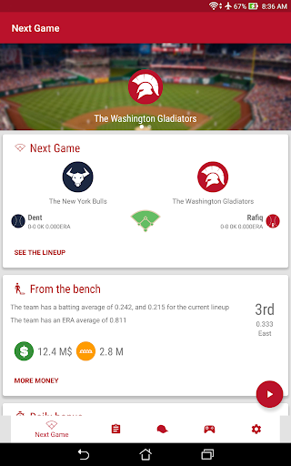 Baseball Legends Manager 2