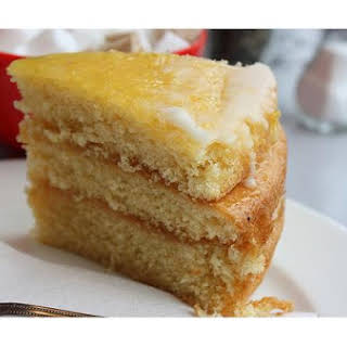 Gooey Lemon Cake.