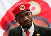 Ugandan musician turned politician, Robert Kyagulanyi also known as Bobi Wine.