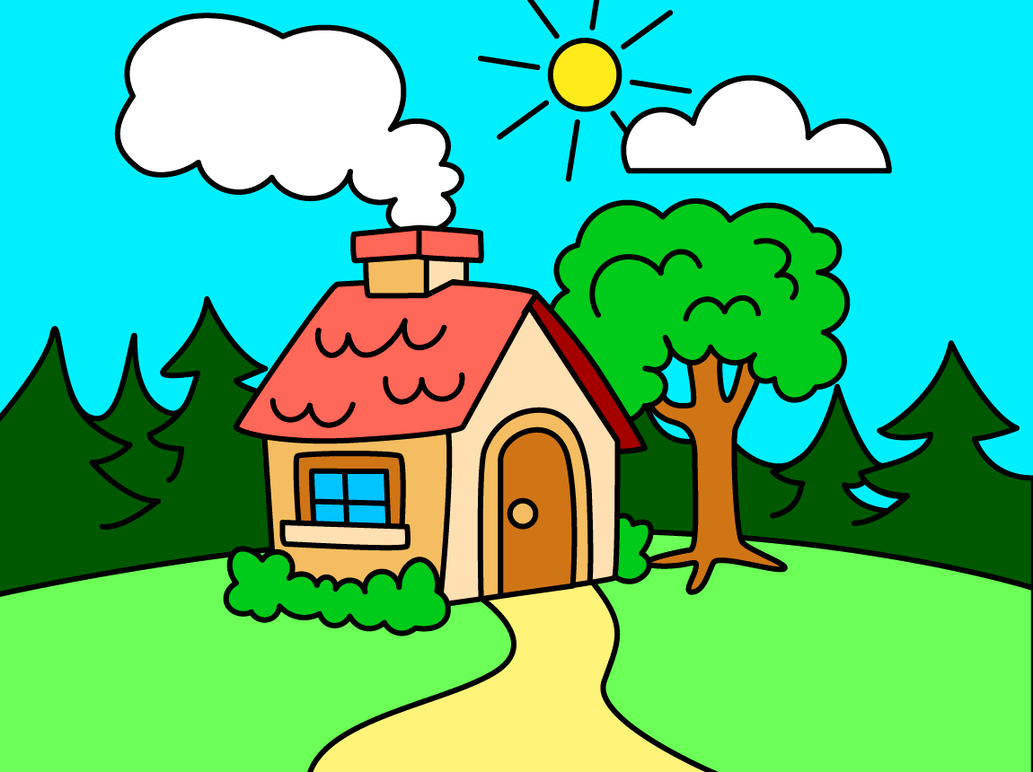 coloring kids drawing colors screenshot - Picture Of Drawing For Kid