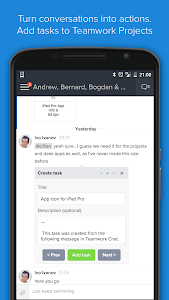 Teamwork Chat screenshot 2