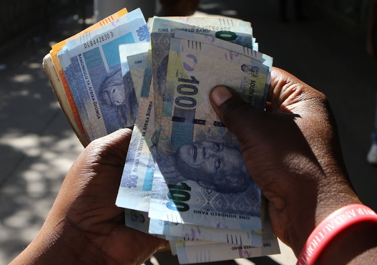 Rand. Picture: REUTERS