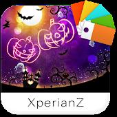 XperianZ™ Halloween Neon theme