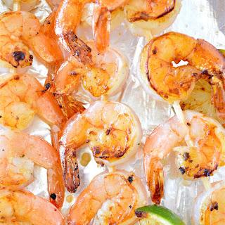 Grilled Honey Lime Shrimp Kabobs