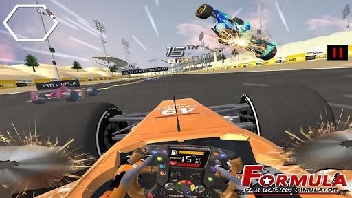 Formula Car Racing Simulator mobile No 1 Race game fond d'écran 2