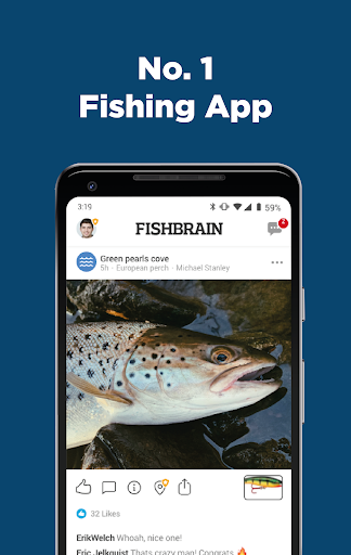 Download Fishbrain - local fishing map and forecast app For PC 1