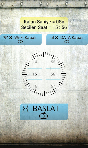 WiFi Data Timer Scheduler