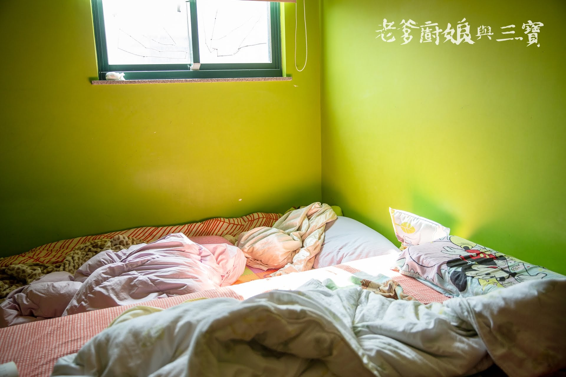 老爹終於不用睡地板啦!好躺也不怕野孩子粗殘的床墊...Panbor Rolling 牛奶雪糕獨立筒捲包床
