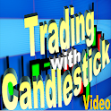 Trading with Candlestick Chart icon