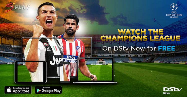 UEFA action for free on the DStv Now app