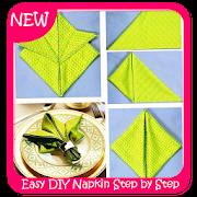 Easy DIY Napkin Step by Step