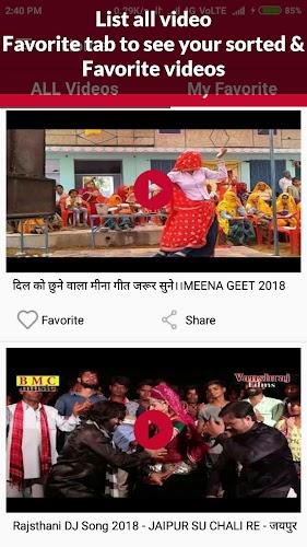 Download Rajasthani Video Song : Rajasthani Video Gana APK
