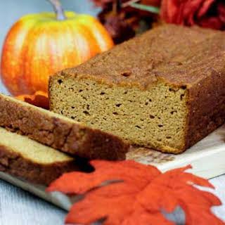 Almond Flour Pumpkin Bread.