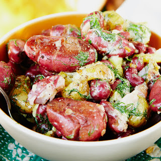 Dilly New Potato Salad with Summer Sausage