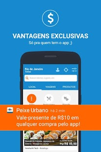 Peixe Urbano- screenshot thumbnail