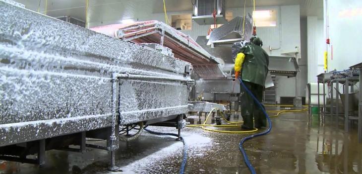 Vệ sinh máy móc của nhà xưởng cũng cần phải chuyên nghiệp và nắm rõ các kiến thức cơ bản