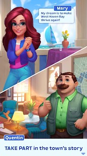 Match Town Makeover Mod Apk 1.11.1202 (Unlimited Boosters/Lives) 4