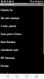 Radio Indonesia Live Streaming - náhled