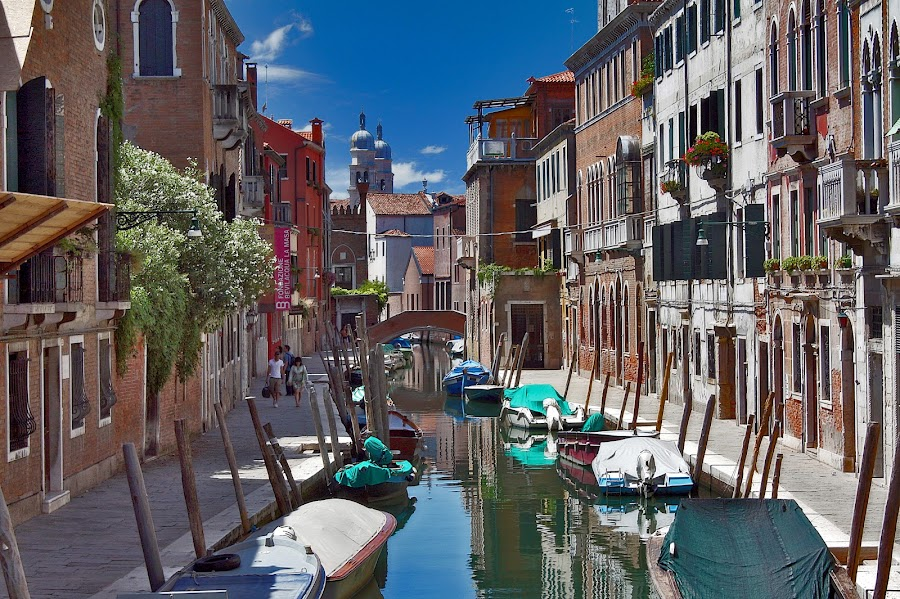 quite venice by Almas Bavcic - City,  Street & Park  Historic Districts ( venice, architecture, italy, canal, historic )