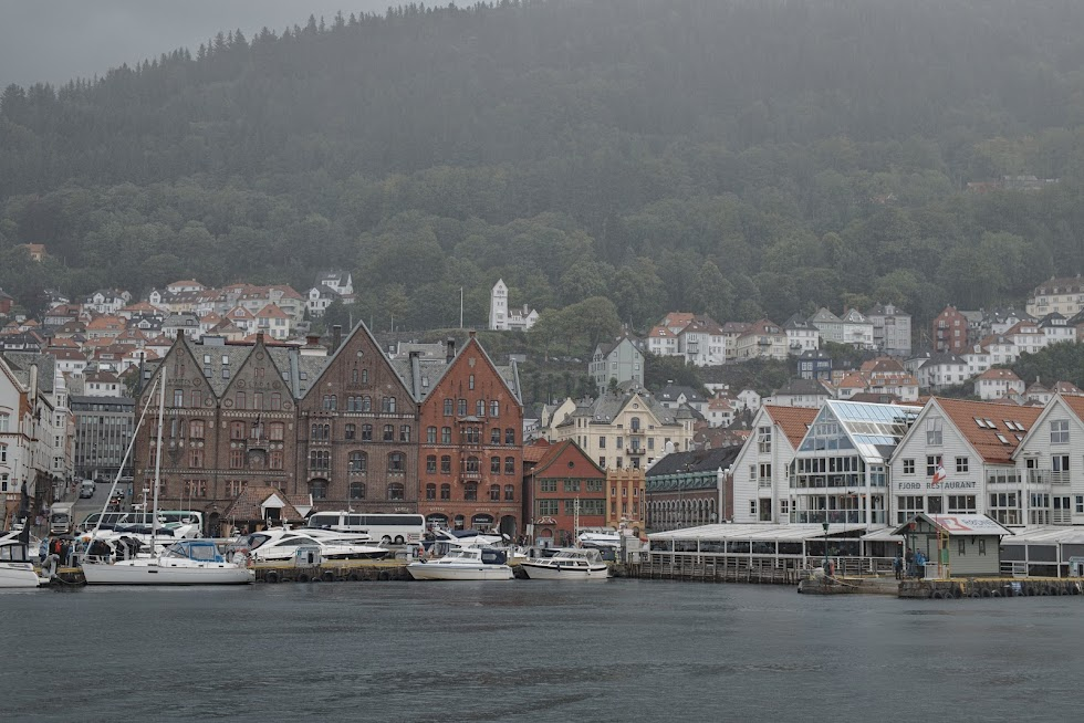 Deszczowe Bergen