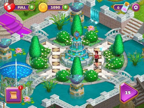 Royal Garden Tales - Match 3 Castle Decoration