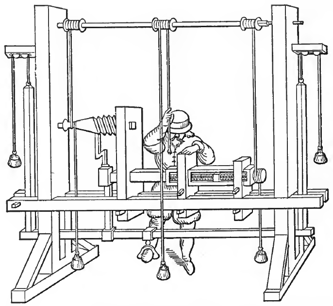 Berson's French Lathe, built in 1569