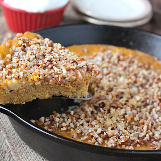 Sweet Potato Skillet Soufflé Cake