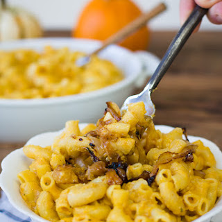Pumpkin & Goat Cheese Macaroni