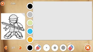 How to draw ninja on phone - screenshot thumbnail 04