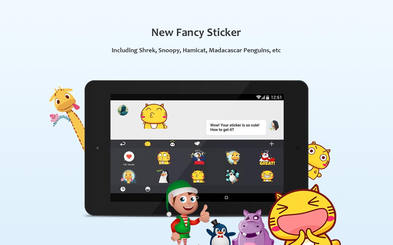 GO Keyboard - Emoji, Wallpaper screenshot #11