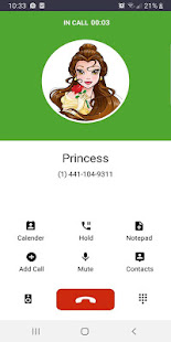 Fake Call from princess - náhled