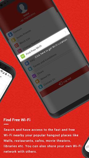 Wibrate - Free Wi-Fi & Messaging Service 3.8 screenshots 9