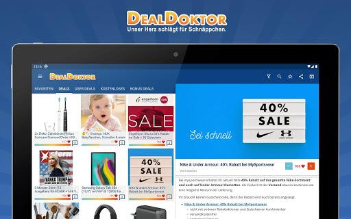 DealDoktor » Schnäppchen, Kostenloses, Gutscheine 5.5.5 screenshots 8