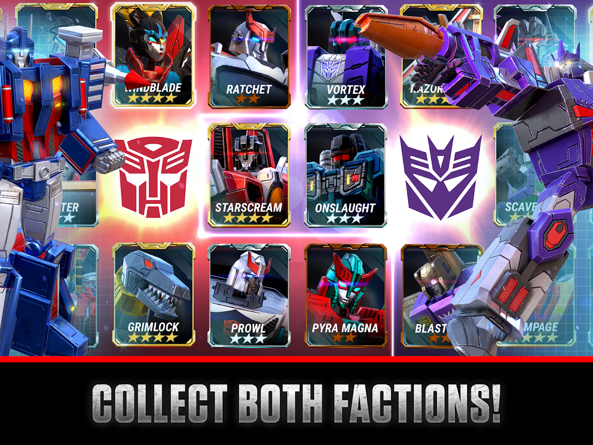TRANSFORMERS: Earth Wars- screenshot
