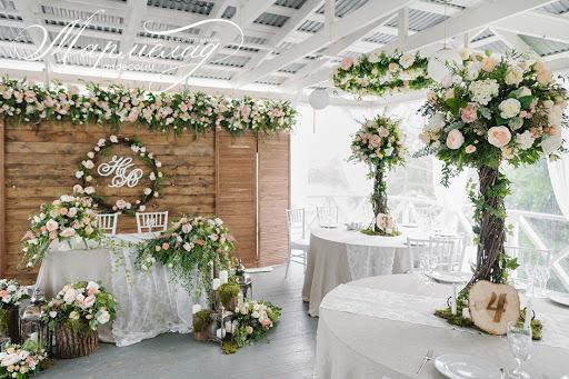 Летняя терраса для свадьбы
