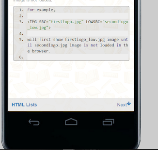 Offline Learn Html5 & Editor- screenshot thumbnail