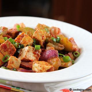 Chilli Tofu.