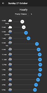 Shadow Weather: Minimal forecast radar & calendar Screenshot