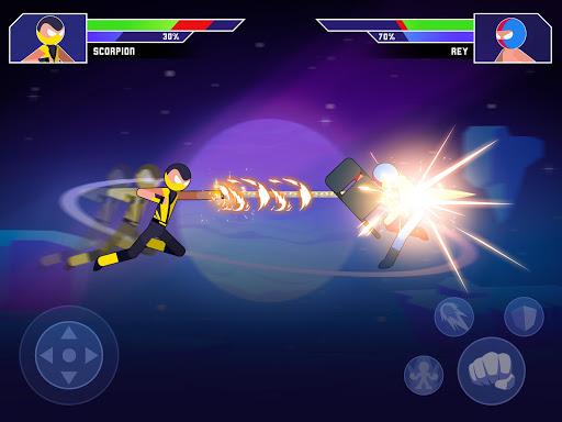 Galaxy of Stick: Super Champions Hero screenshots 8